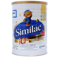 Sữa bột Similac 3 IQ Plus 1,7kg (1 - 2 tuổi)