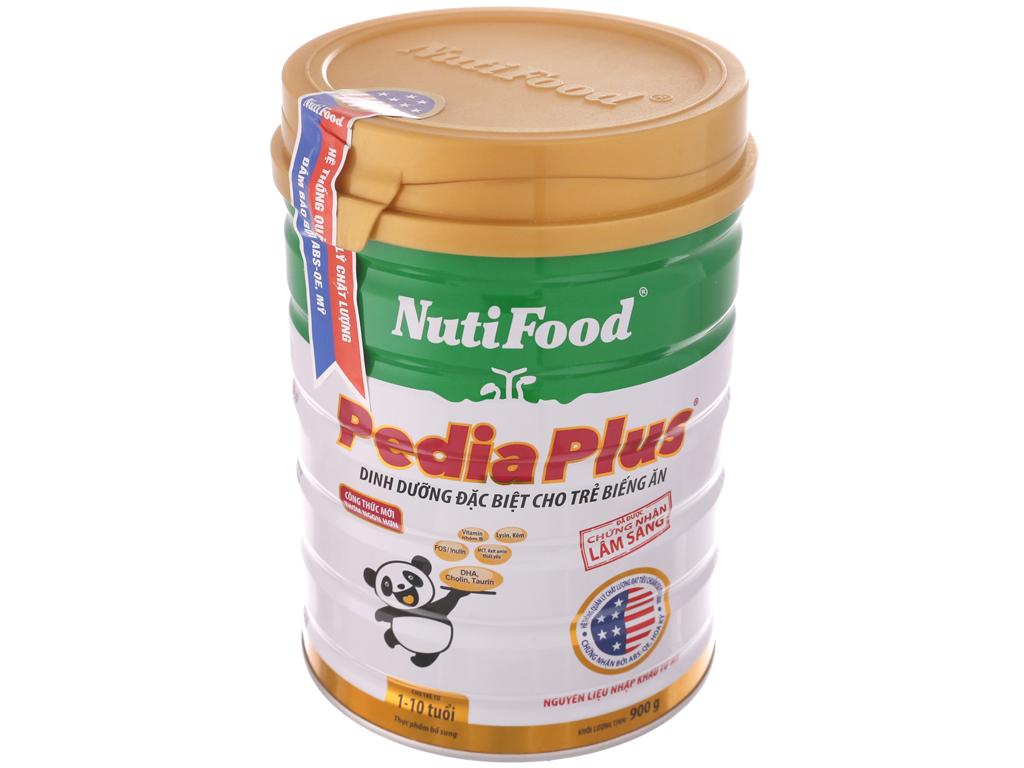 Sữa bột NutiFood Pedia Plus lon 900g (1 - 10 tuổi) 2