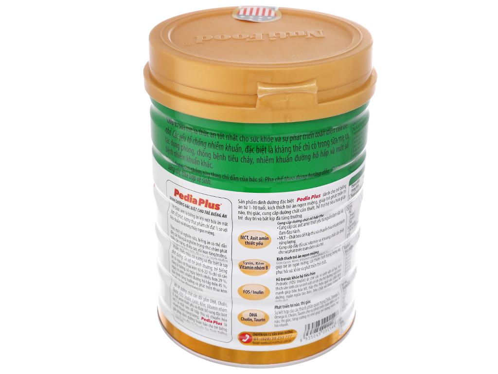 Sữa bột NutiFood Pedia Plus lon 900g (1 - 10 tuổi) 3