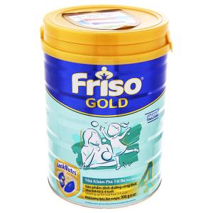 Sữa bột Friso Gold 4 vani hộp 900g (2 - 4 tuổi)