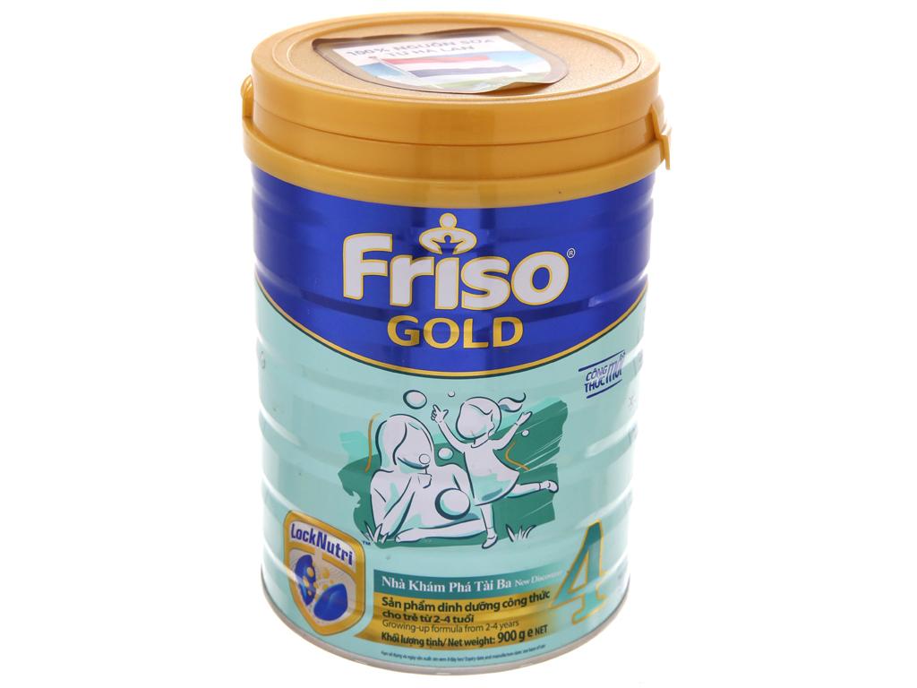Sữa bột Friso Gold 4 vani hộp 900g (2 - 4 tuổi) 2