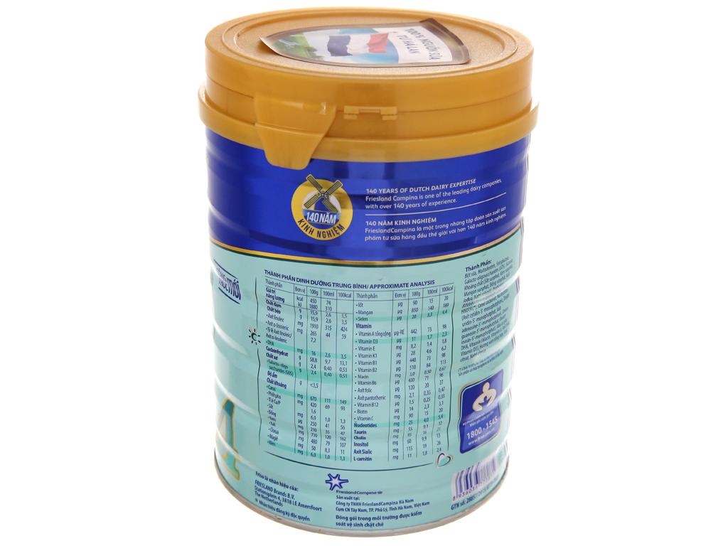 Sữa bột Friso Gold 4 vani hộp 900g (2 - 4 tuổi) 3