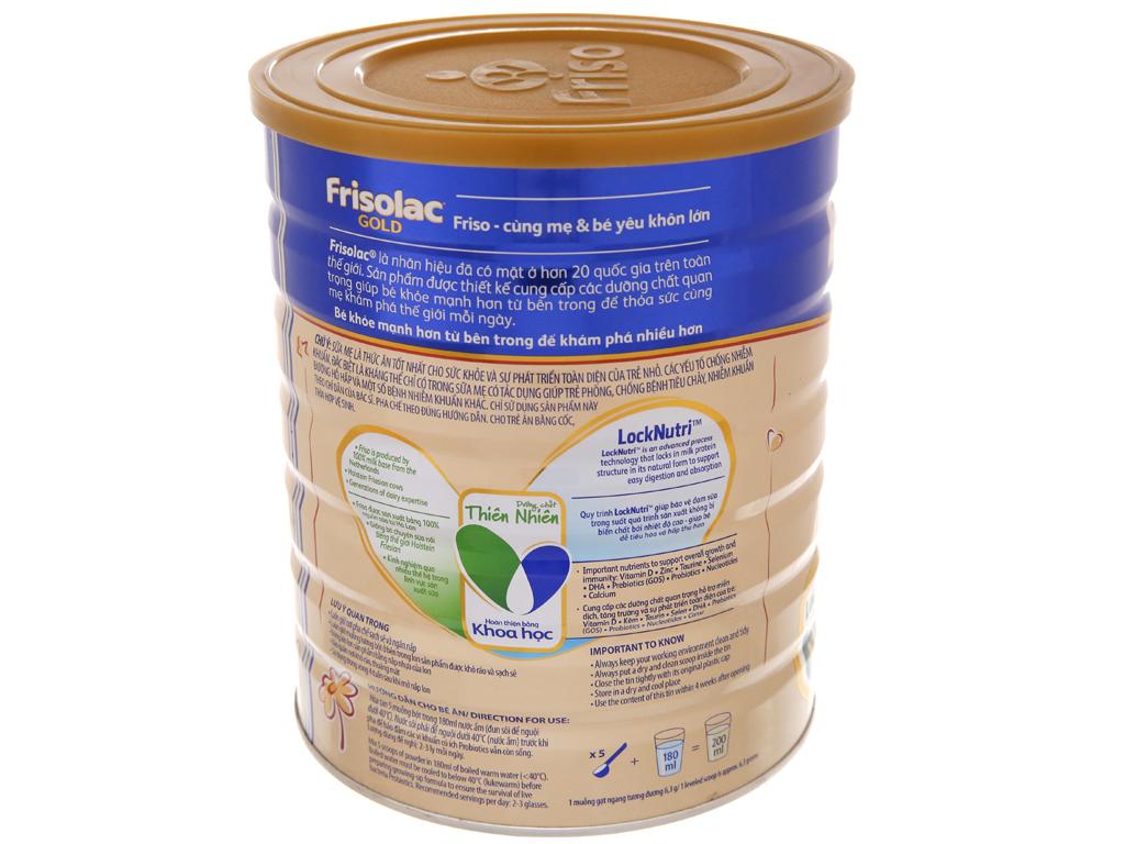 Sữa bột Frisolac Gold 3 vani hộp 1,5kg (1 - 2 tuổi) 4