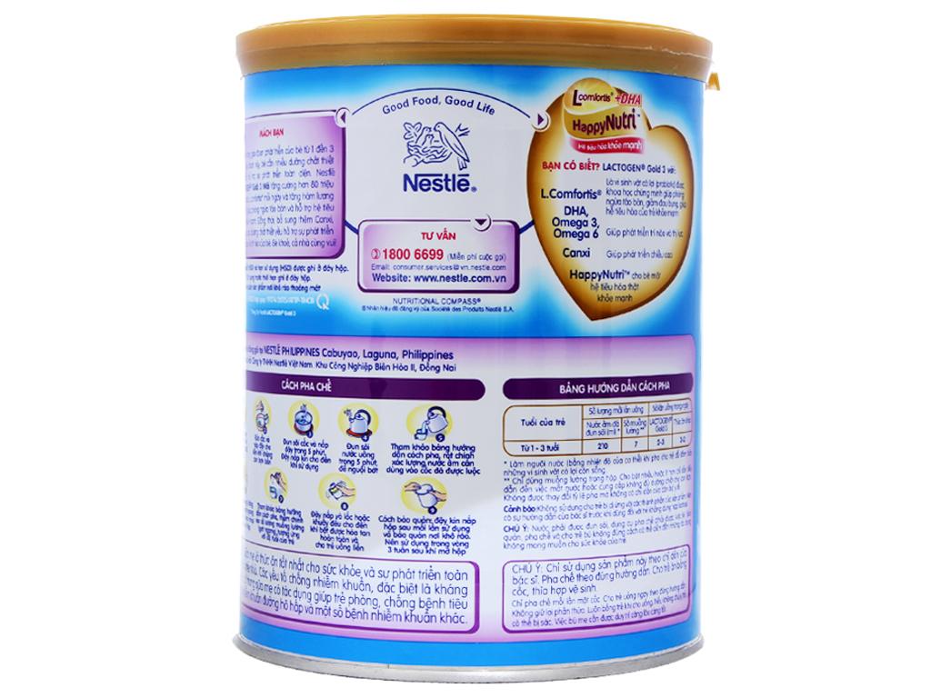 Sữa bột Nestlé Lactogen Gold 3 lon 900g (1 - 3 tuổi) 4