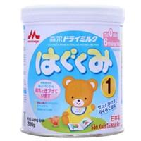 Sữa bột Morinaga Hagukumi 1 320g (cho bé 0-6 tháng)