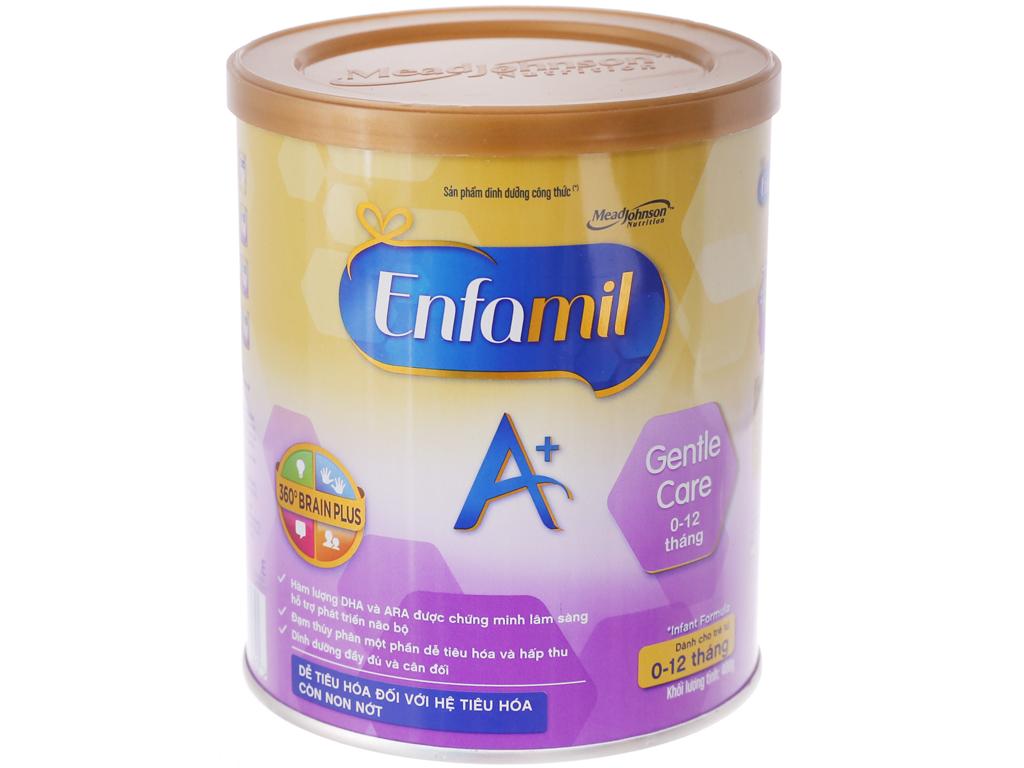 Sữa bột Enfamil A+ Gentle Care lon 400g (0 - 12 tháng) 2
