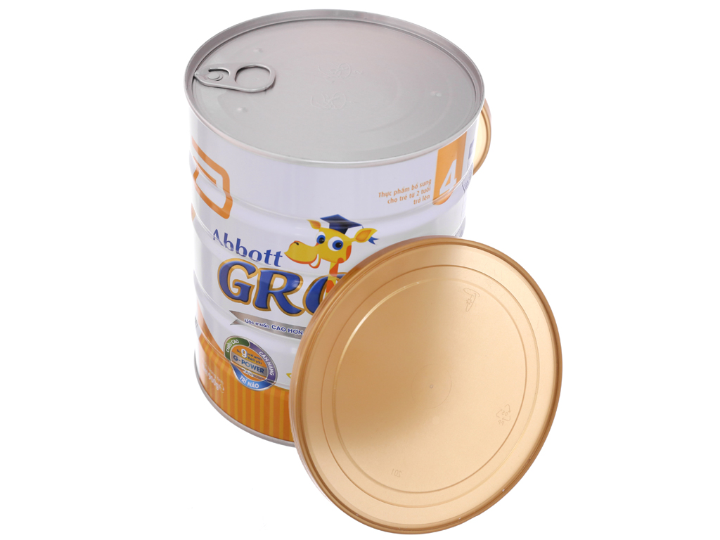 Sữa bột Abbott Grow 4 lon 900g (trên 2 tuổi) 5