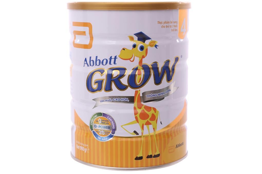 Sữa bột Abbott Grow 4 lon 900g (trên 2 tuổi) 1