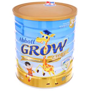 Sữa bột Abbott Grow Gold 3+ vani lon 1,7kg (3 - 6 tuổi)