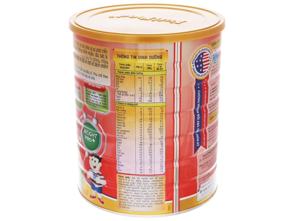 Sữa bột NutiFood Grow Plus+ suy dinh dưỡng thấp còi lon 1,5kg (trên 1 tuổi) 4