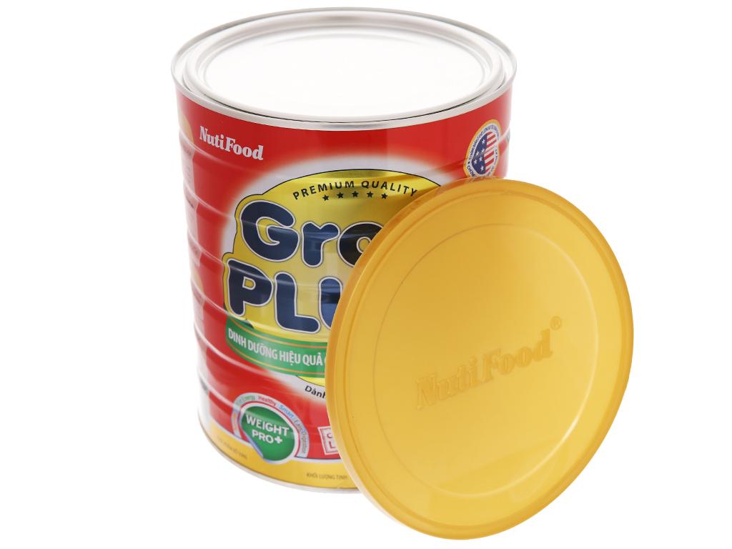 Sữa bột NutiFood Grow Plus+ suy dinh dưỡng thấp còi lon 1,5kg (trên 1 tuổi) 5