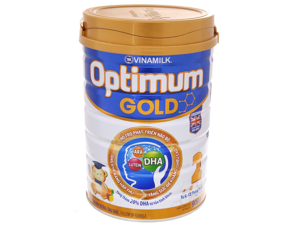 Sữa bột Optimum Gold 2 lon 900g (6 - 12 tháng) 2