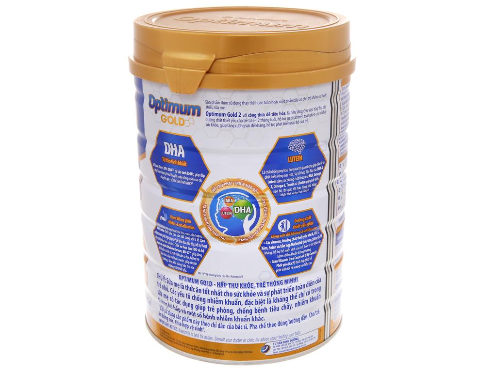 Sữa bột Optimum Gold 2 lon 900g (6 - 12 tháng) 3