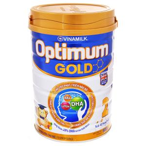 Sữa bột Optimum Gold 2 lon 900g (lỗi bao bì)