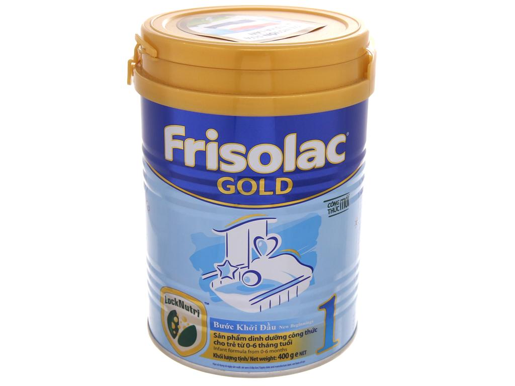 Sữa bột Frisolac Gold 1 lon 400g (0 - 6 tháng) 2