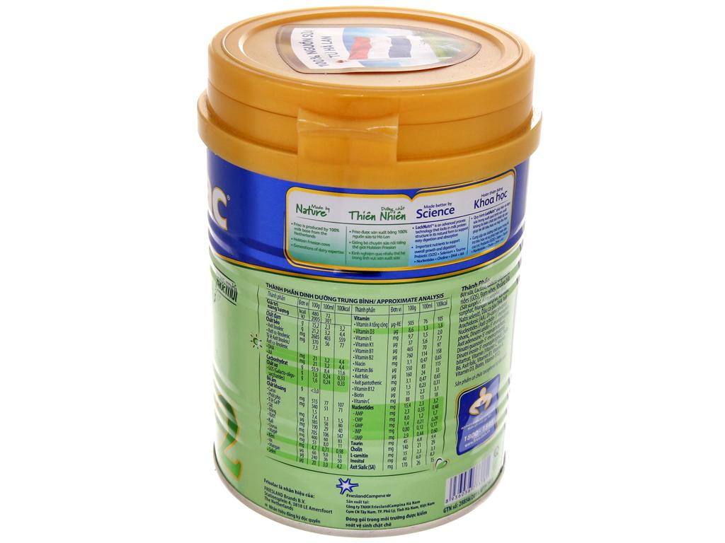 Sữa bột Frisolac Gold 2 lon 400g (6 - 12 tháng) 2