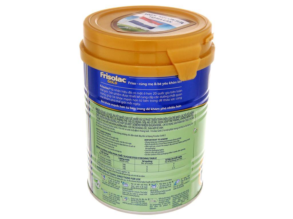 Sữa bột Frisolac Gold 2 lon 400g (6 - 12 tháng) 3