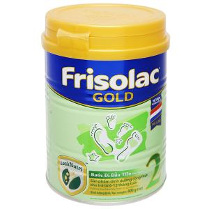 Sữa bột Frisolac Gold 2 lon 400g (lỗi bao bì)