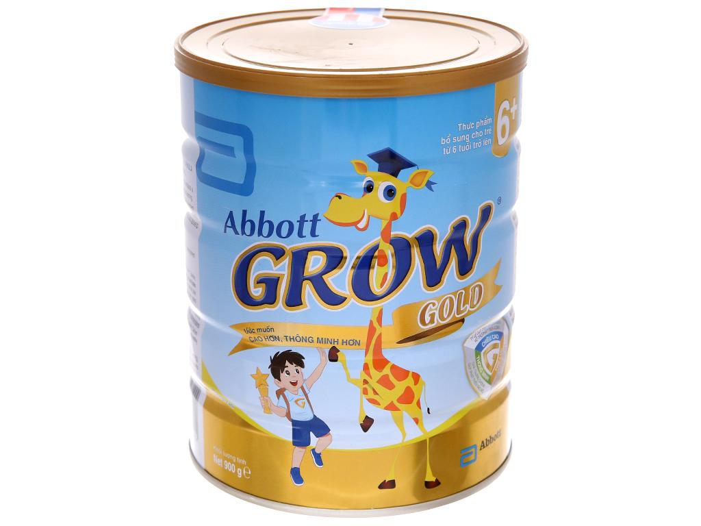 Sữa bột Abbott Grow Gold 6+ vani lon 900g (trên 6 tuổi) 2
