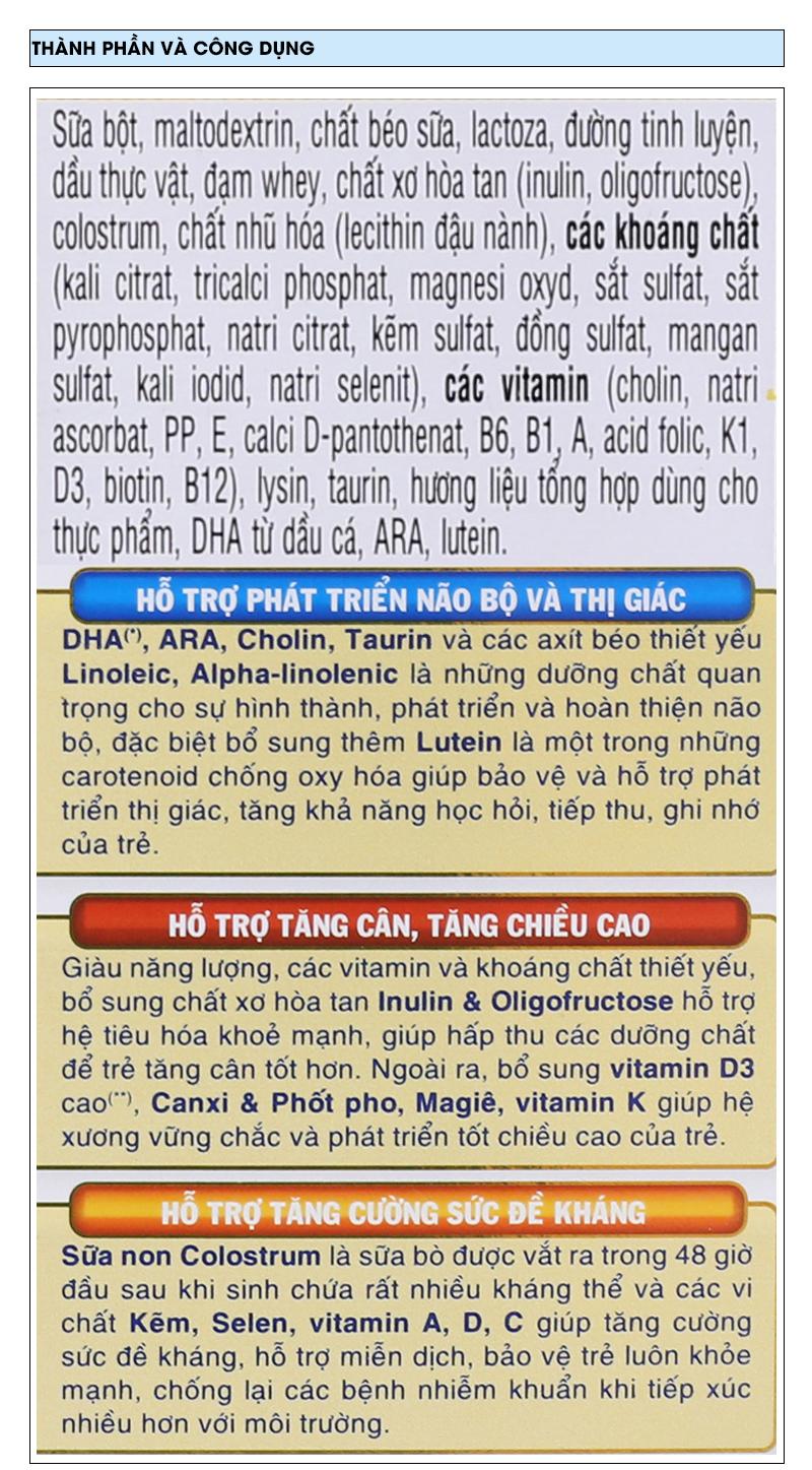 Sữa bột Dielac Alpha 4 hộp 400g (2 - 6 tuổi) 6