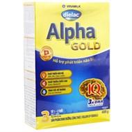 Sữa bột Dielac Alpha Gold 3 400g (1 - 2 tuổi)