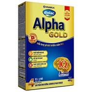 Sữa bột Dielac Alpha Gold 4 400g (2 - 6 tuổi)