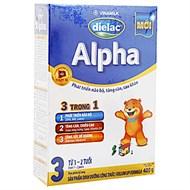 Sữa bột Dielac Alpha 3 400g (1 - 2 tuổi)