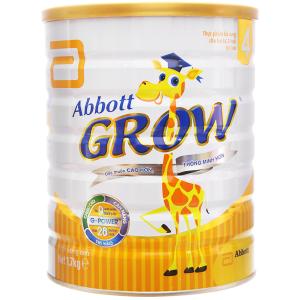 Sữa bột Abbott Grow 4 lon 1,7kg (trên 2 tuổi)
