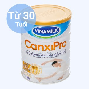 Sữa bột Vinamilk CanxiPro ít béo lon 900g