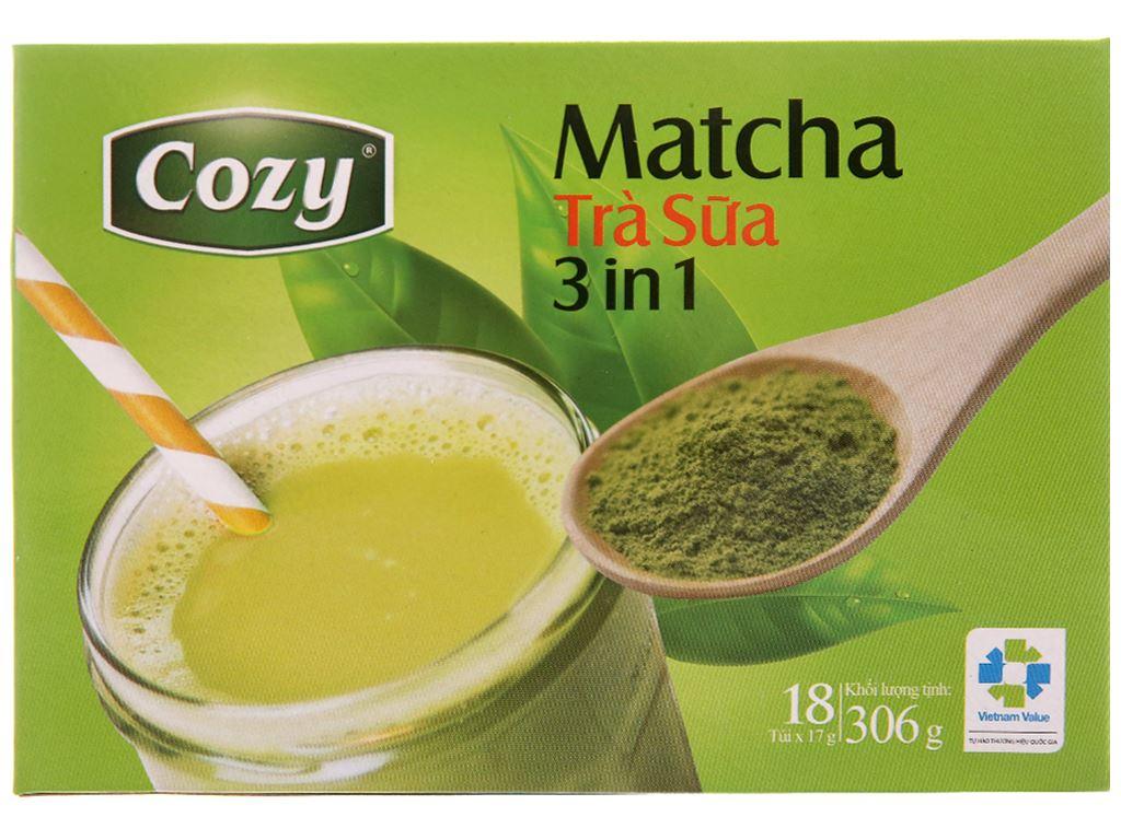 Trà sữa matcha Cozy 3 in 1 306g 2