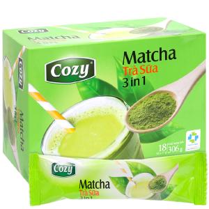 Trà sữa matcha Cozy 3 in 1 306g
