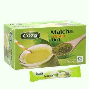Trà sữa matcha Cozy 3 in 1 hộp 306g