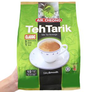Trà sữa Aik Cheong TehTarik Classic 3 trong 1 bịch 600g (40g x 15 túi)