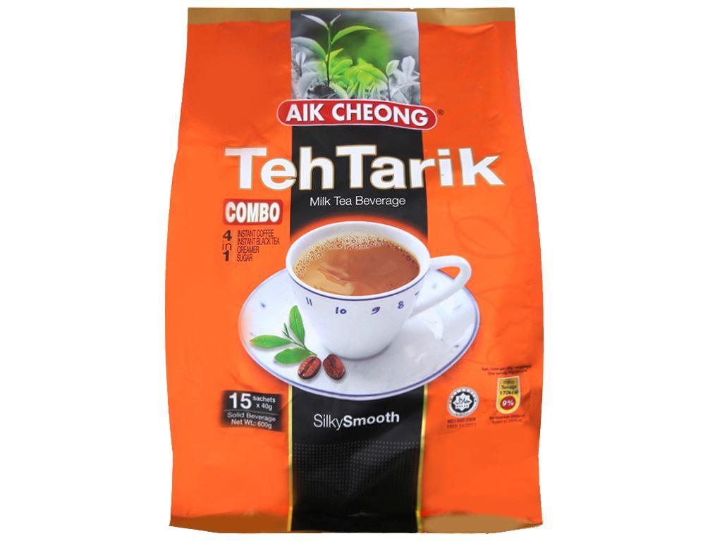 Trà sữa Aik Cheong TehTarik bịch 600g (40g x 15 túi) 1