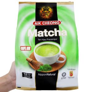 Trà sữa matcha Aik Cheong bịch 300g (25g x 12 túi)