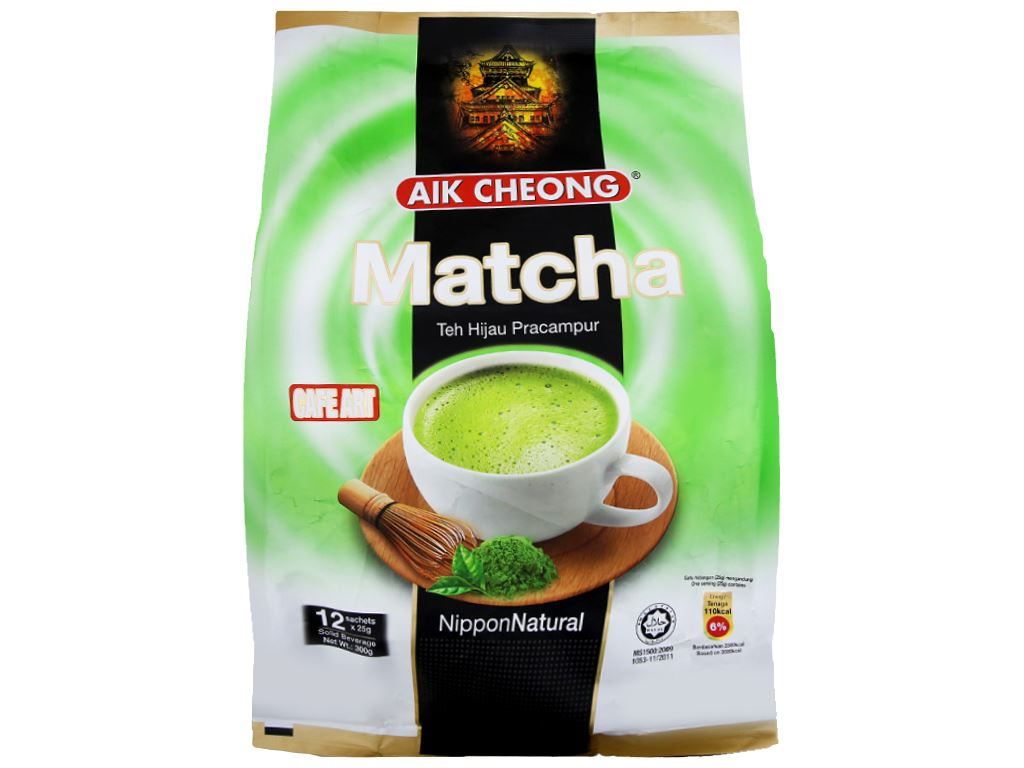 Trà sữa matcha Aik Cheong 300g 1