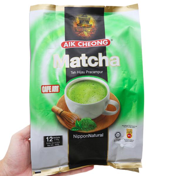 Trà sữa matcha Aik Cheong TehTarik bịch 300g (25g x 12 gói)