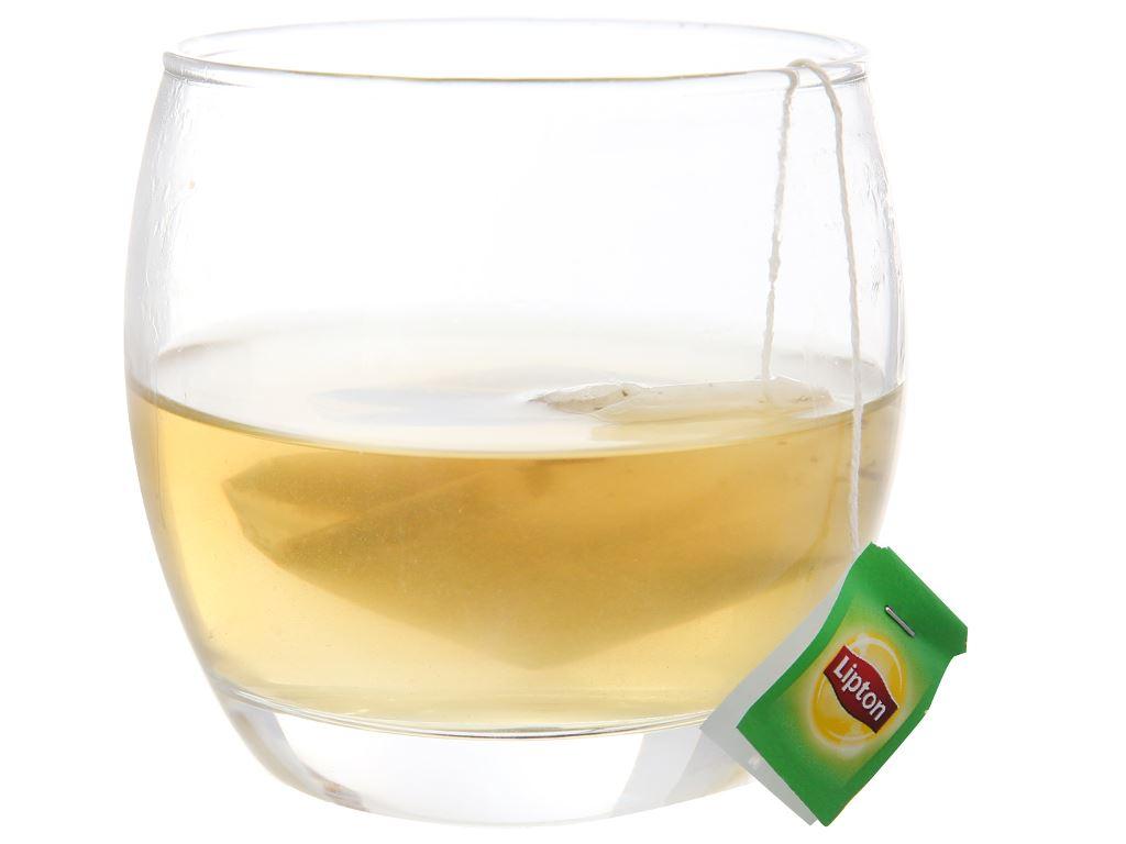 Trà xanh Lipton bung tỏa hương chanh 30g 4