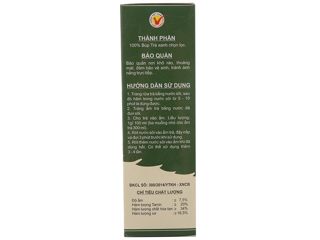 Trà xanh Hòa Lộc 250g 3