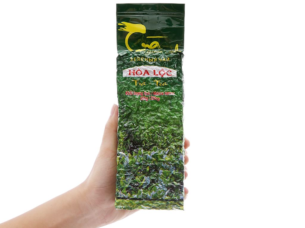 Trà xanh Hòa Lộc 250g 5