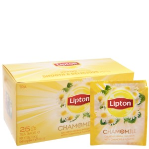 Trà hoa cúc Lipton Chamomile hộp 25g (1g x 25 túi)