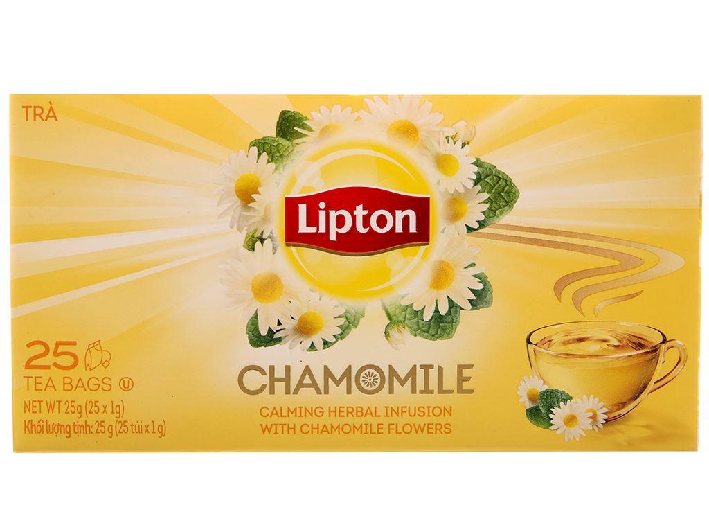 Trà hoa cúc Lipton Chamomile 25g 2