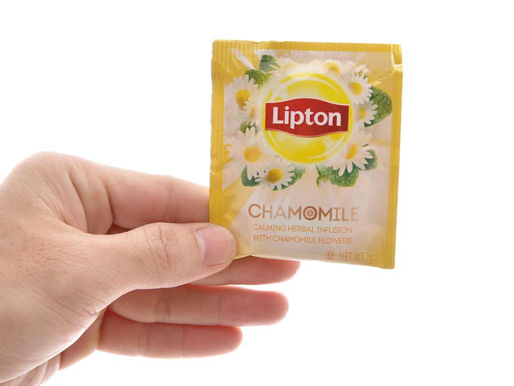 Trà hoa cúc Lipton Chamomile hộp 25g (1g x 25 túi) 5
