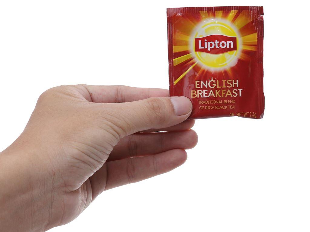 Trà đen Lipton English Breakfast 60g 5