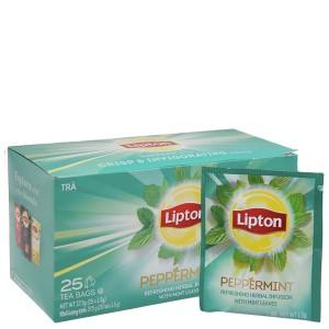 Trà bạc hà Lipton Peppermint hộp 37.5g (1.5g x 25 túi)