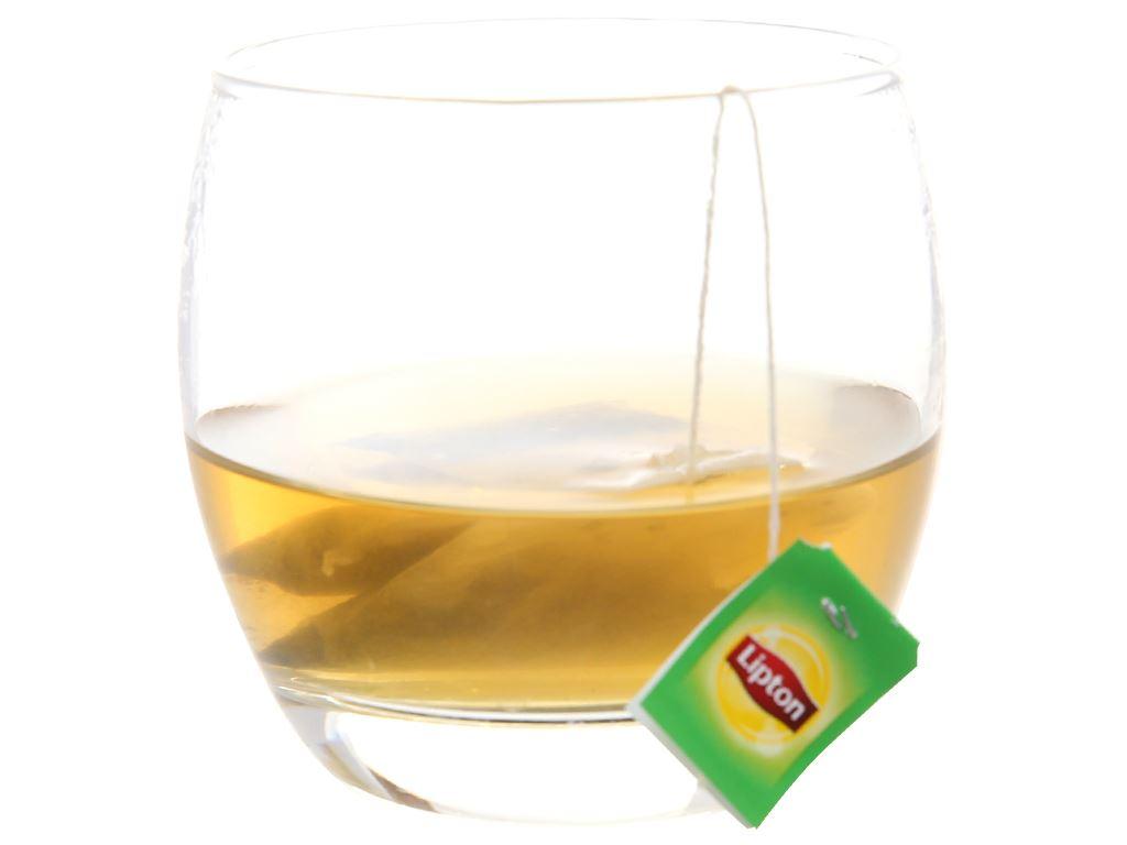 Hộp quà 30 túi trà đen và trà xanh Lipton Nhãn vàng 3