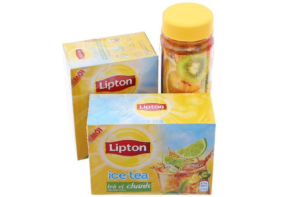 Combo 2 hộp Trà chanh Lipton Ice Tea 448g (14g x 32 túi) 2