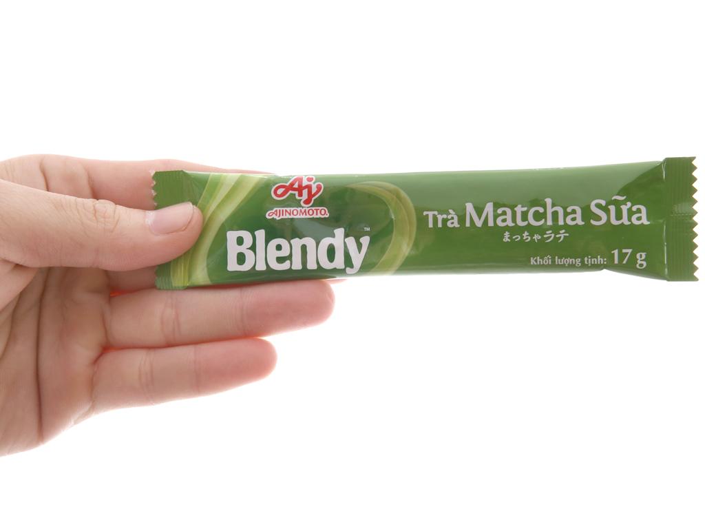 Trà sữa matcha Blendy hộp 10 gói 170g 5
