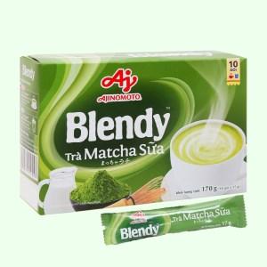 Trà matcha sữa Blendy hộp 170g