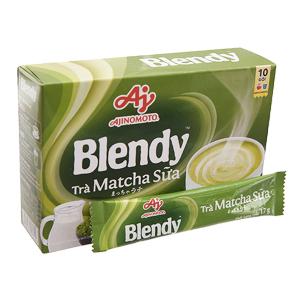 Trà sữa matcha Blendy hộp 170g (17g x 10 gói)